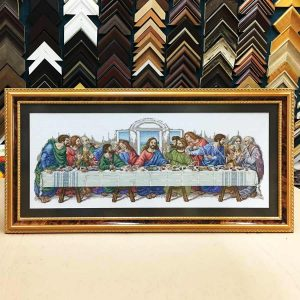 Cross stitch Picture framing